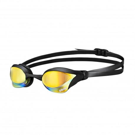 Okularki pływackie Arena Cobra Core Mirror (yel-bk)