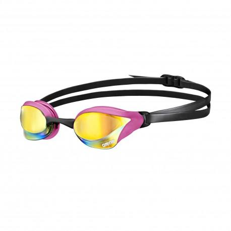 Okularki pływackie Arena Cobra Core Mirror (pink-b)