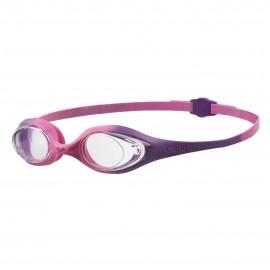 Okularki Arena Spider JR  (Violet Clear Pink)