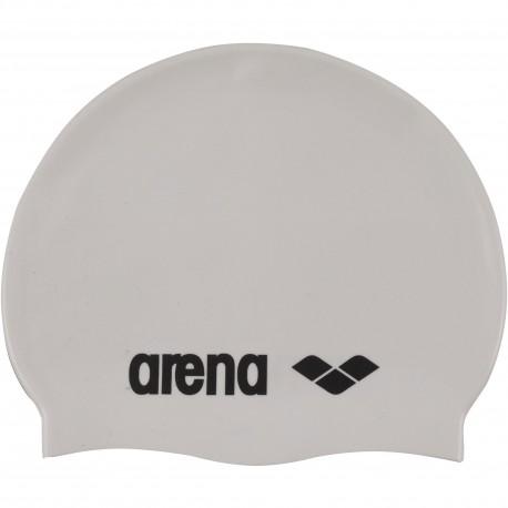 Czepek Arena Classic Silicone (silver-blk)